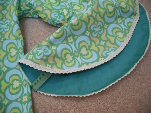 Vintage 60's lining from Fanny Adams
